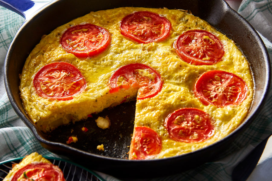 Potato Frittata with Cheese