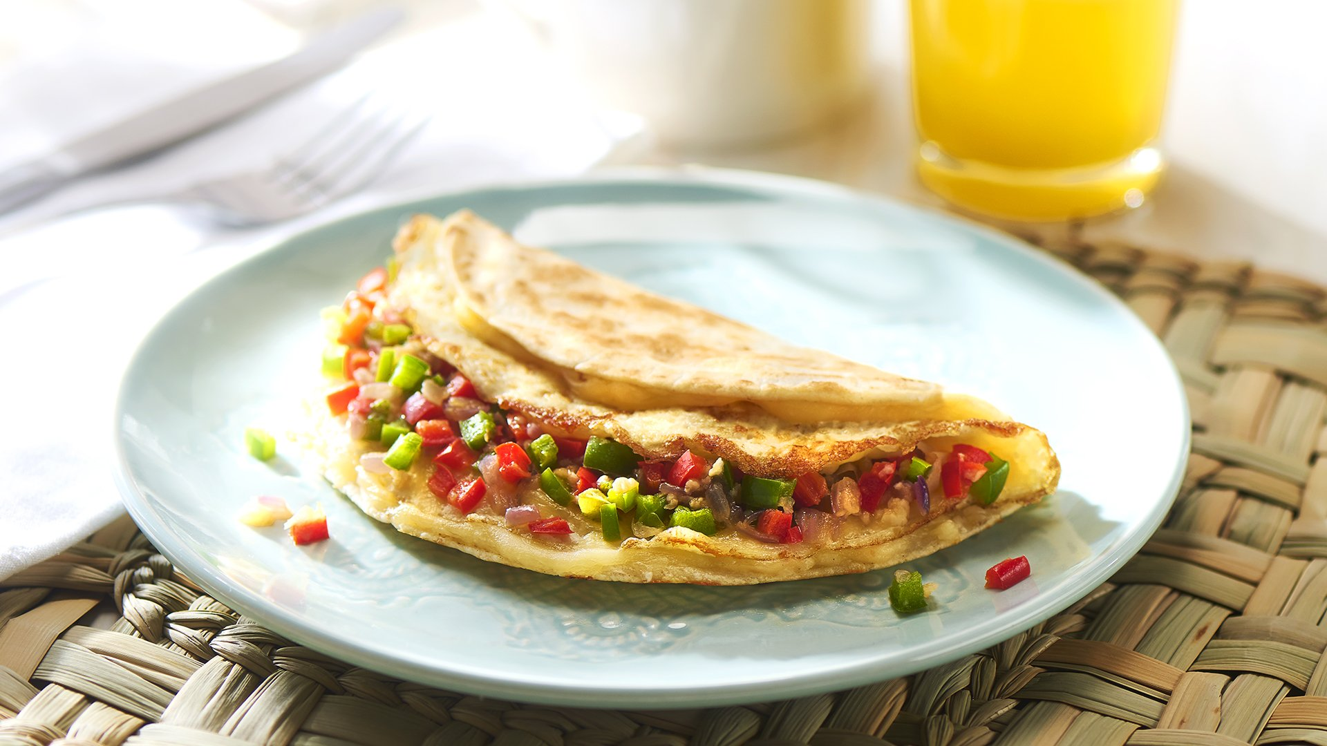 Egg White Breakfast Quesadilla