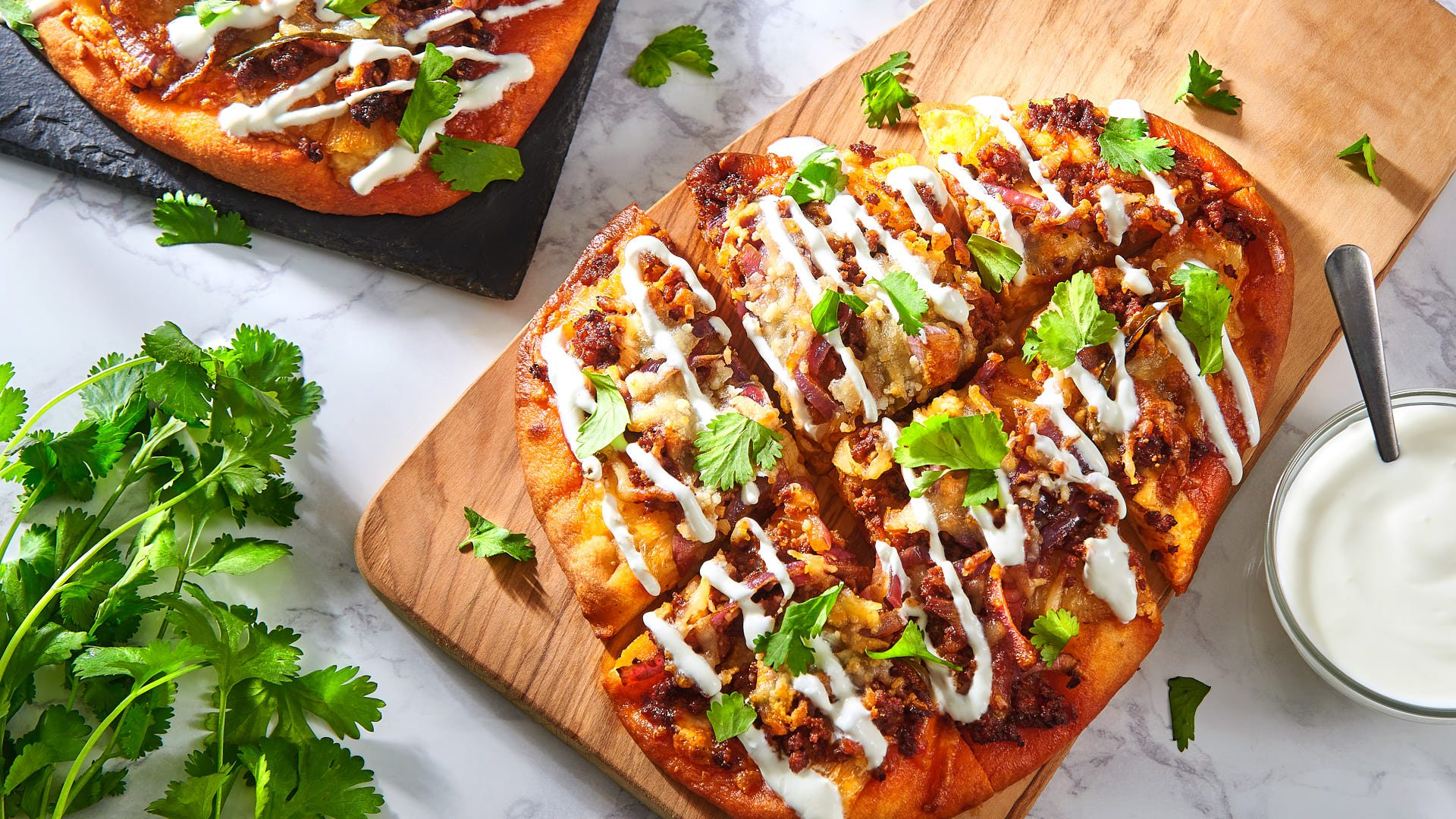 Pineapple Chorizo Flatbread Pizza