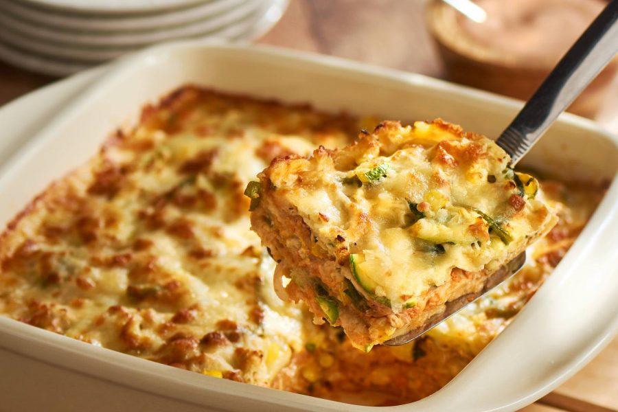 Chicken Tortilla Casserole (Pastel Azteca)
