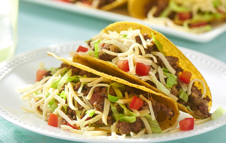 All American Crunchy Beef Tacos