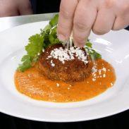 Chef Katsuji Tanabe's Huazontles Capeados