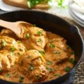 CHICKEN WITH CREAMY CHIPOTLE SAUCE