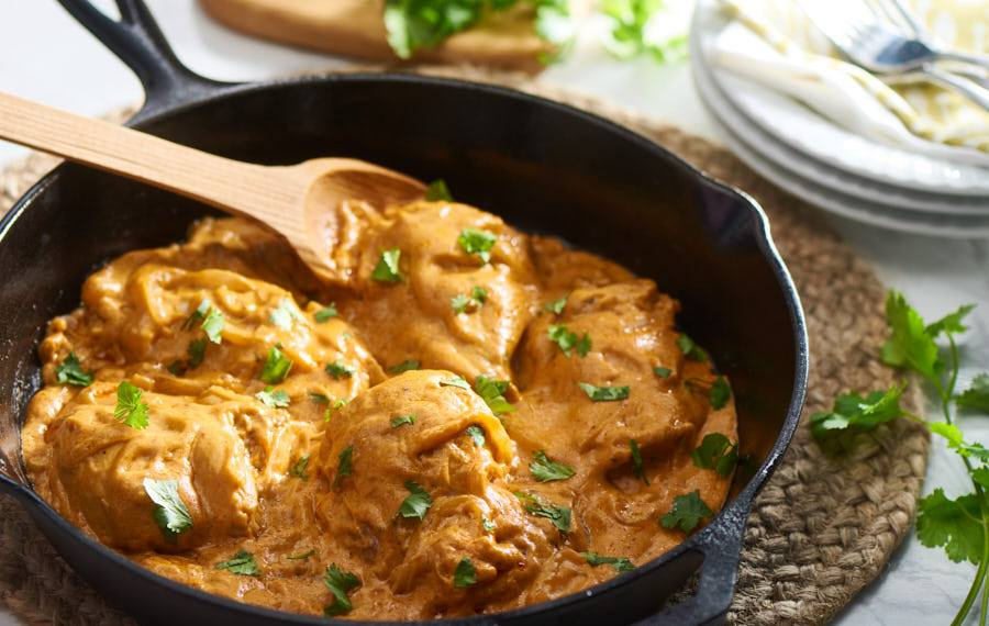 Chicken With Creamy Chipotle Sauce V Amp V Supremo Foods Inc