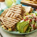 Tequila Chicken Quesadilla