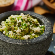 Guacamole with Queso fresco