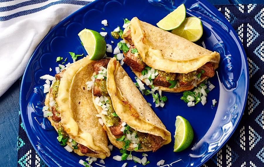 Tacos de Falda de Res (Brisket)