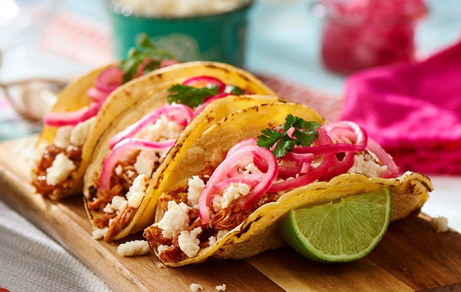 Chicken Pibil Tacos