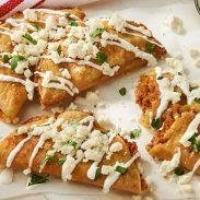 Crunchy Chorizo Potato Tacos