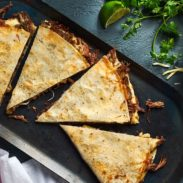 Shredded Beef Quesadillas