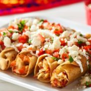 Cheesy Chicken Taquitos