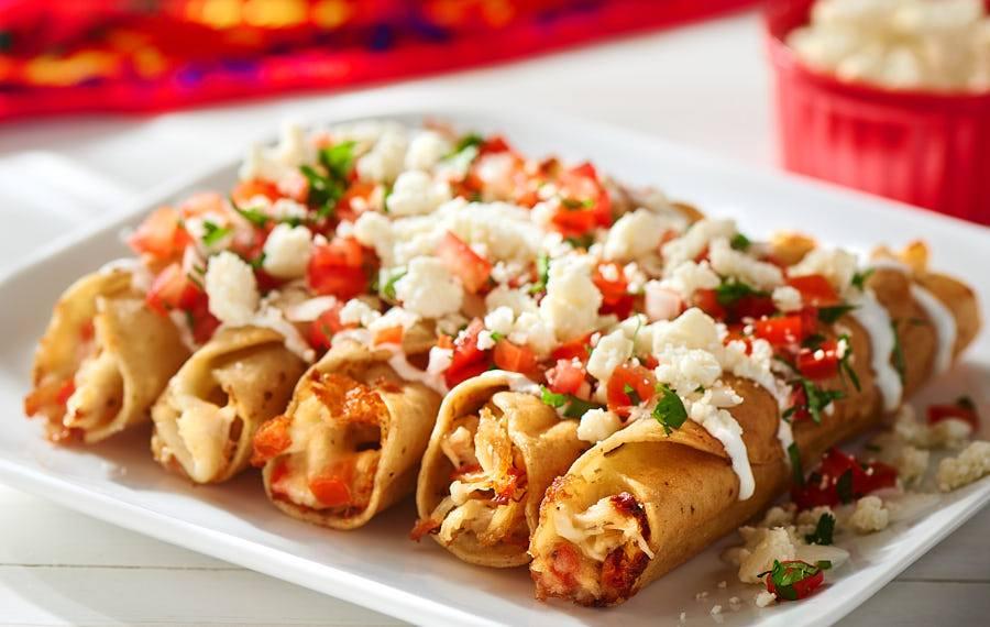 Cheesy Chicken Taquitos V Amp V Supremo Foods Inc