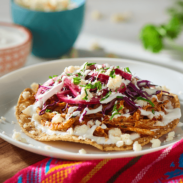 Turkey Tinga Tostadas
