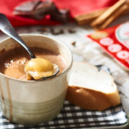 Hot Chocolate con Queso