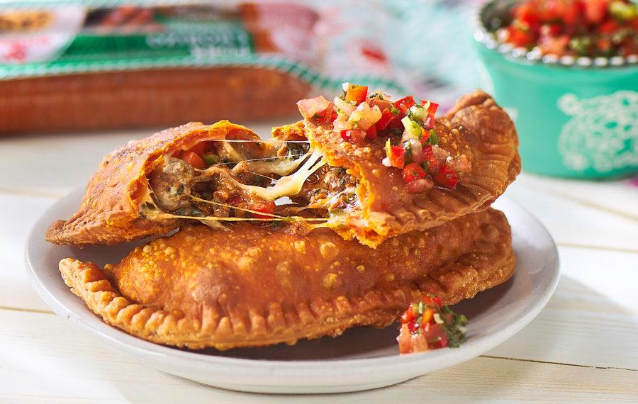 Chorizo and Ground Beef Empanadas