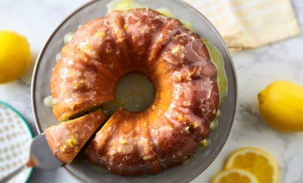 Lemon Sour Cream Bundt Cake