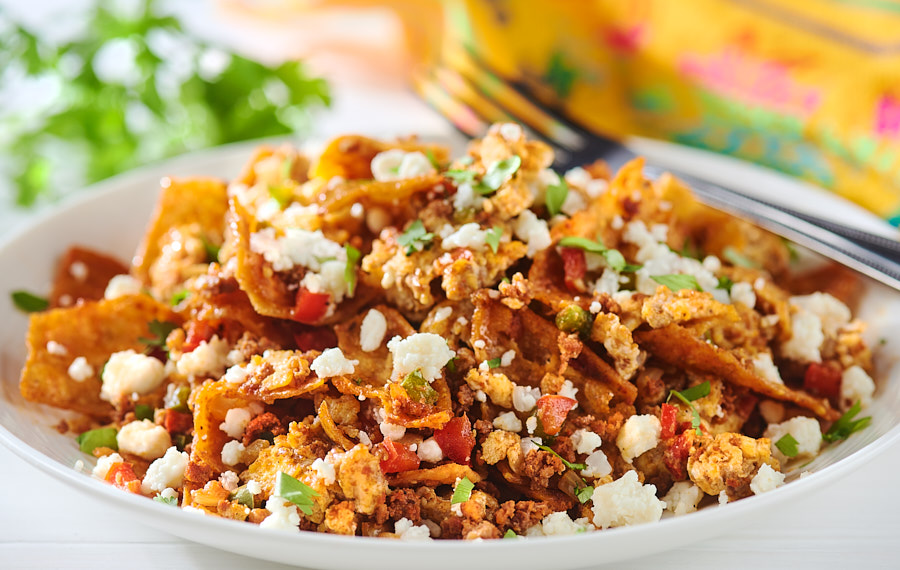 Migas with Chorizo