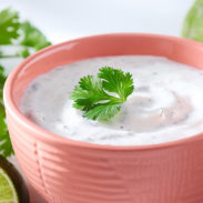 Cilantro Lime Sour Cream
