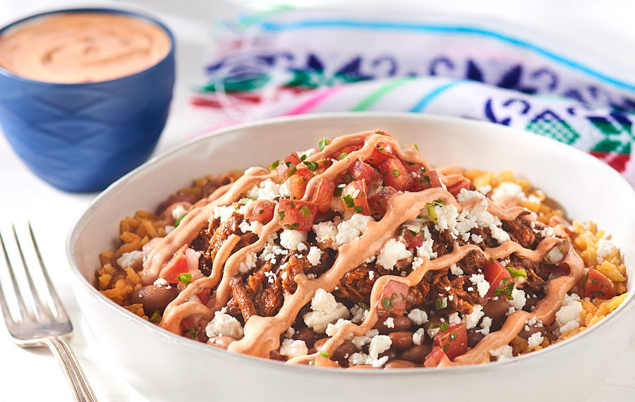 Shredded Beef Burrito Bowl