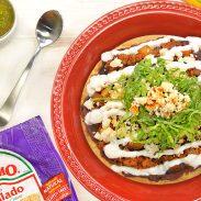 Chorizo Picadillo Tostadas