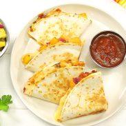 Chipotle Fruit Quesadillas