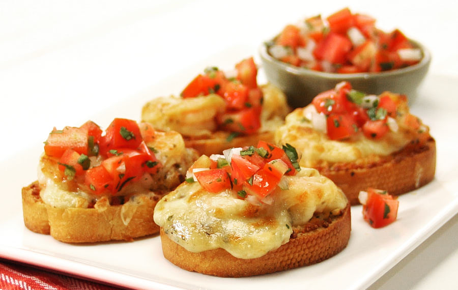 Cheesy Shrimp Appetizers