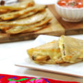 Fried Poblano Quesadillas Strips