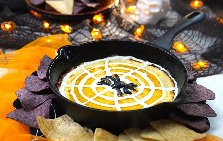 Dip de Queso para Halloween