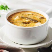 Two Cheese Potato Soup