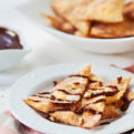 Fried Cinnamon Tortilla Chips