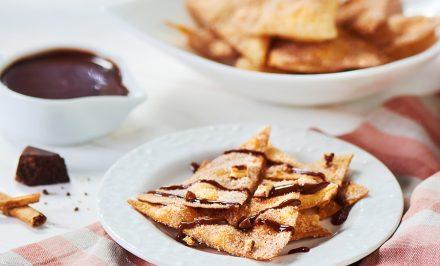 Fried Cinnamon Tortilla Chips