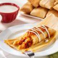 Tamales Keto con Carne de Puerco