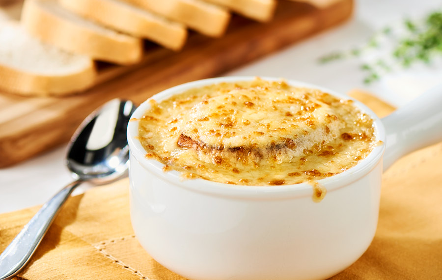 Cheesy Onion Soup