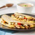 Shiitake Mushroom Quesadillas