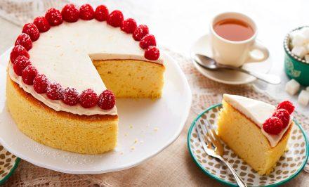 Cheesecake With Honey Orange Cream Sauce