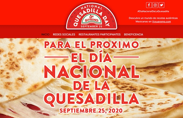 National-Quesadilla-Days