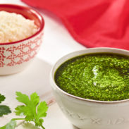 Chimichurri Style Sauce with Cotija Cheese