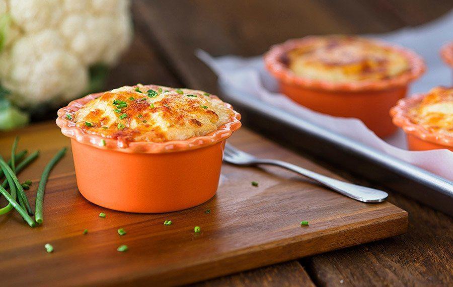 Roasted Cauliflower Au Gratin - V&V Supremo Foods, Inc.